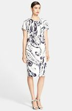 Escada Paisley Print Shift Dress ( Size 36- US 6)