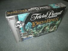 LORD OF THE RINGS DVD TRIVIAL PURUIT TRILOGY EDITION FACTORY SEALED SEAL DAMAGED