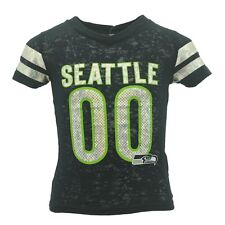 Seattle Seahawks Official NFL Kids & Youth Girls Size Sheer Shirt New Tags