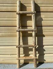 Kiva Ladder, Tarahumara 4 Feet Tall,Rustic , Southwest Made In Mexico, 4 Steps