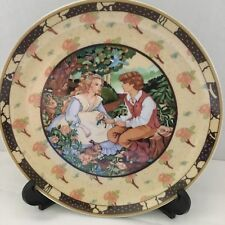 Roses Are Red Decorative porcelain plate by Villeroy Boch,Once Upon A Rhyme