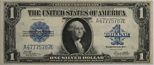 1923 Silver Certificate Large Size Us Currency $1 - No Reserve -
