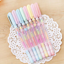 2pc Cute Highlighter Pen Marker Stationary Point Pen Ballpen 6 Color
