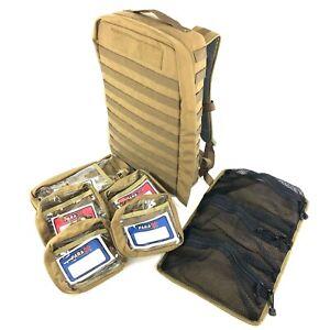 Skedco Medical Assault Backpack, Coyote Modular Trauma Medic Bag Back Pack