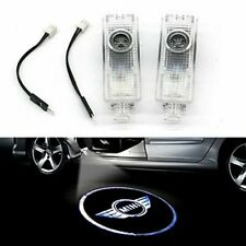 2x LED Door Logo Welcome light For BMW MINI Cooper 1 S R50/53/56/58/59/60 F55/56