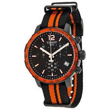 Tissot Mens Quickster Chronograph Black Quartz Swiss Made Watch T0954173705700
