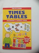 Times Tables Colouring & Activity Book