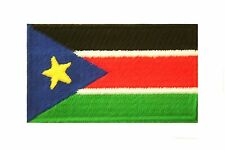 South Sudan Country Flag Iron-On Patch Crest Badge .Size : 1.5 X 2.5 Inch .New
