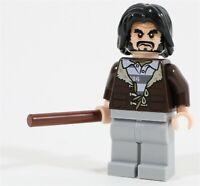 LEGO HARRY POTTER AZKABAN SIRIUS BLACK MINIFIGURE - MADE OF GENUINE LEGO PARTS