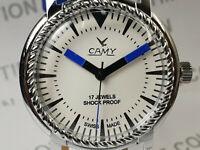 Vintage Camy Analog Dial Mechanical Handwinding Movement Mens Wrist Watch VG208