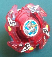 RARE Plastic Beyblade Old Generation Takara Clear Red Driger F