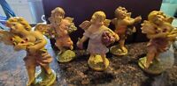 Vintage Cherub Angels Italy Lot of Five