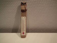 Thermomètre Chouette ,   hauteur: 12 cm