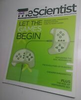 The Scientist magazine 1/2013 video games, education, plastids [near mint issue]