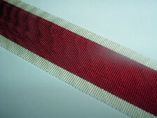 MEDAL RIBBON-GOOD OLD QUALITY OLD GERMAN VOLKSPLEDGE RIBBON