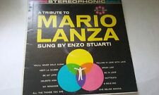 ENZO STUARTI RECORD A TRIBUTE TO MARIO LANZA 33 RPM WITH JACKET & SLEEVE #S-53