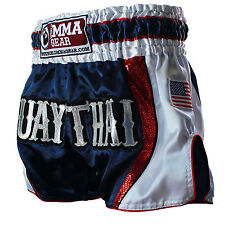Premium Retro Muay Thai Shorts for men & women Honor By World Mma Gear Handmade