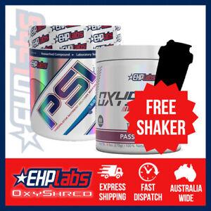 EHPlabs OxyShred & PSI | Bundle | FREE Shaker & Shipping