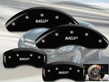"1996-2002 Mercedes Benz E320 Front + Rear Black ""MGP"" Brake Disc Caliper Covers"