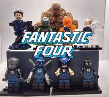 Custom Fantastic Four set meets the Fearsome Four Secret Warps