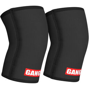 Sling Shot Gangsta Knee Sleeves by Mark Bell - Black