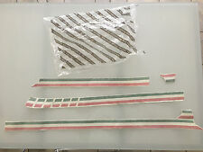 GENUINE Fiat 500 Right Hand Drivers Side Italia Side Stripes Decals - 51818666
