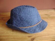 """@ ZARA @ Hat Girls Blue 54 CM 6 3/4 """" Summer Hat"""