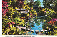 Dorset Postcard - Japanese Garden - Compton Acres - Canford Cliffs - Poole  XX10