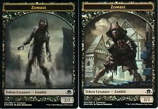 Zombie token foil | nm | promotion | Magic mtg