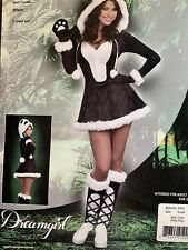 Panda Bear Baby Costume Halloween Sexy Costume Size Adult Small