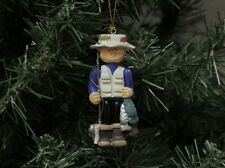 Fisherman & Outdoor Christmas Ornament, Fishing