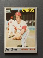 1970 Topps #190 Joe Torre HOF St Louis Cardinals EX