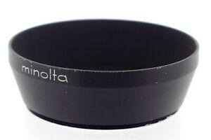 Minolta Genuine D49NA 49mm Metal Screw Fit Lens Hood