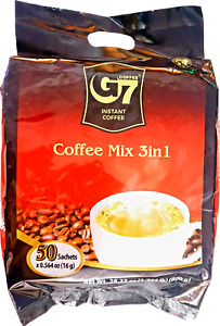 G7 Coffee Vietnamese Trung Nguyen G7 Instant Coffee 3 in 1 50 PCS **EXPORT STOCK