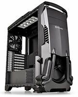 Gaming Computer Case Black ATX Mid Tower Home Office AMD INTEL Component Desktop
