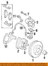 GM OEM Brake-Front Pads 19152666