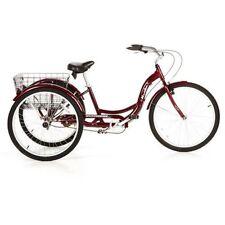 "26"" Schwinn Meridian Adult cheap best Tricycle, cherry"