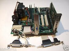 A-TREND ATC6310M, Slot 1,2x ISA,Intel Motherboard +CPU 400MHz+512Mb+Video+Audio