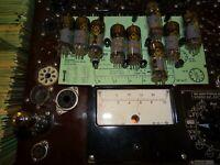 10 WF Röhren EF 80 aus VEB Produktion Tube Valve auf Funke W19 geprüft BL1672