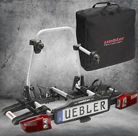 UEBLER Fahrradträger für 2 Räder X 21 S 15760 mit Tasche 19670 X21S