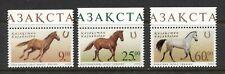 KAZAKHSTAN 2002, HORSES, Scott 356-358, MNH