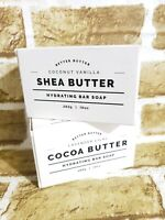 Lot of 2 Home Body & Co Lavender Lilac Cocoa Butter Hydrating Bar Soap