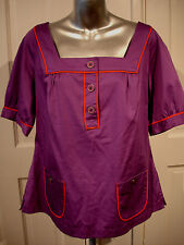 PUPLE TOP BY LINEA SIZE 16