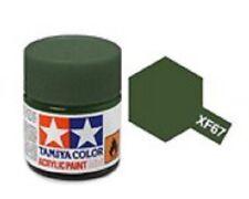TAMIYA COLORI ACRILICI PER PLASTICA XF67 NATO GREEN FOR PLASTIC