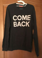 "@ Pull - Cardigan - "" Come Back "" - Gris - JULES  - Taille L  - Homme -"