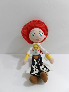 "11"" Disney Toy Story Plush Stuffed Bean Filled Jessie Toy Doll"