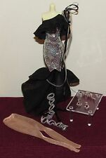 Barbie Stephen Burrows Nisha New Complete FASHION ONLY Model Muse Just Deboxed