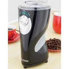 Giudice Coffee Bean Grinder Elettrico Capacità 12 TAZZE MOTORE 200 W-JEA42