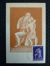BELGIEN MK 1945 WW2 WIDERSTAND RESISTANCE MAXIMUMKARTE MAXIMUM CARD MC a8835