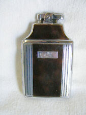 Vtg. Collectible RONSON Lighter/Case for Cigarettes, has engraved initials-front